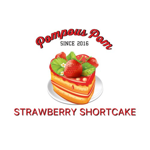 Pompous Pom - Strawberry Shortcake 30ml/100ml
