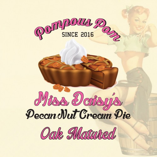 Oak Aged Miss Daisy's Pecan Nut Cream Pie 60ml