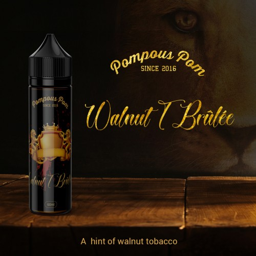 Pompous Pom - Walnut T Brûlée 60ml