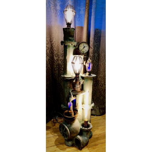 SteamPunk Floor Lamp